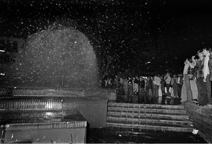 14 Revellers got to El Alamein Fountain